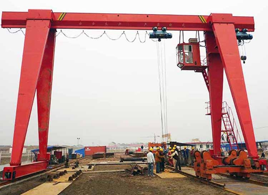 Single Girder Cantilever Gantry Crane