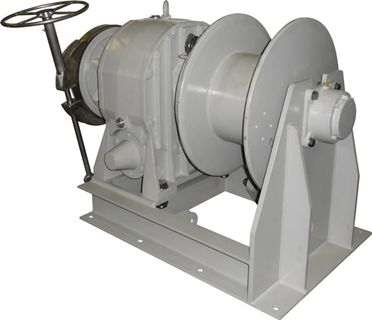 Compact Drum Anchor Winch
