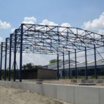 Galvanised Steel Structure