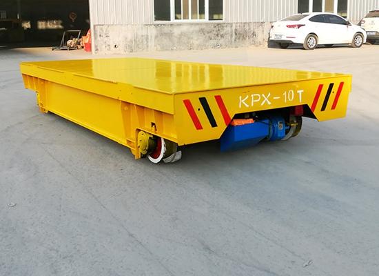 Industrial Motorized Transfer Trolley