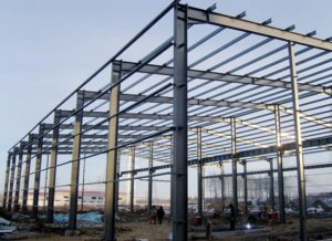 Industrial Pre Engineered Steel Structure