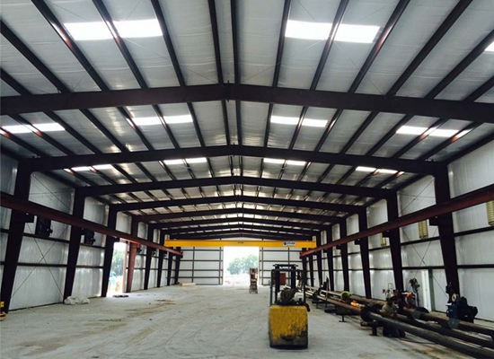 Light Pre Engineered Steel Structure