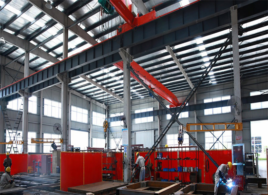 Portable Crane Steel Structures