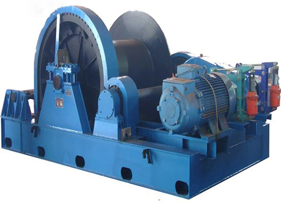 Reliable Hydraulic Construction Winches