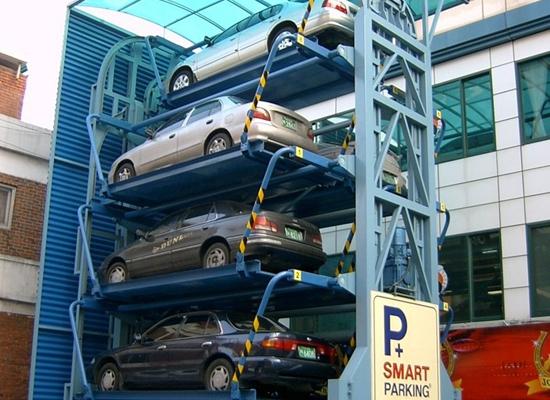 Smart Elevator Car Parking System