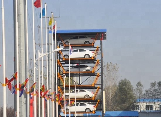 Smart Vertical Car Parking System