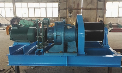 Compact 15 Ton Winch For Sale