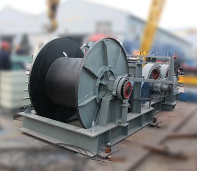 Compact 50 Ton Hydraulic Winch