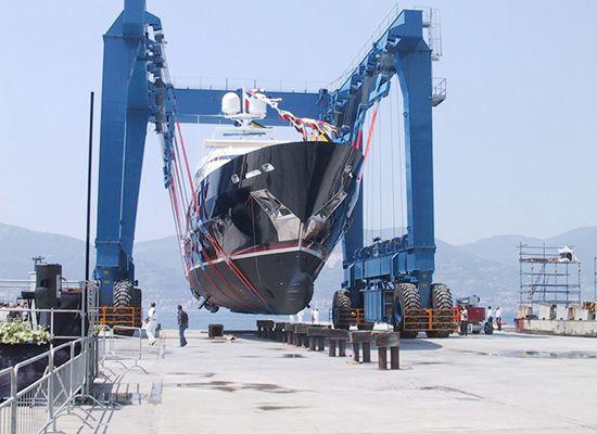 Compact Boat Hoist Crane Lift
