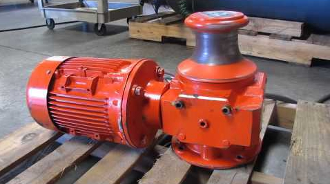Compact Electric Capstan Winch