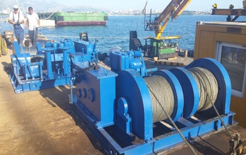 Durable 100 Ton Winch For Sale