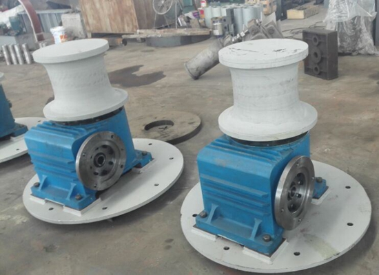 Electric Wire Rope Vertical Capstan Winch