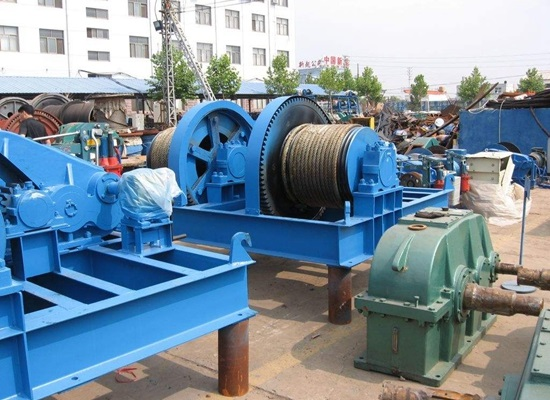 Fast Speed Electric Lifting Winch