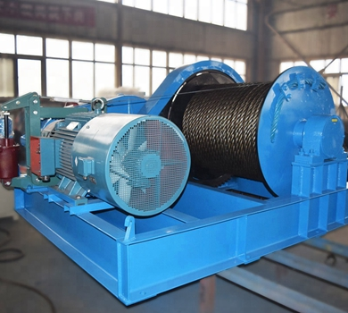 Heavy Duty 50 Ton Hydraulic Winch
