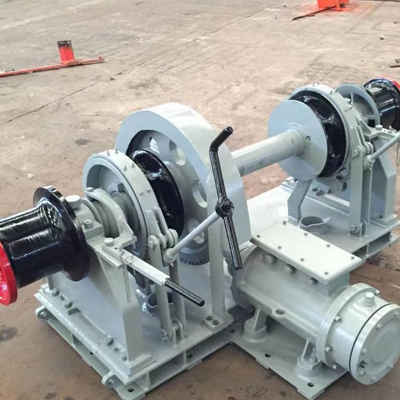 Horizontal Capstan Winch High Safety