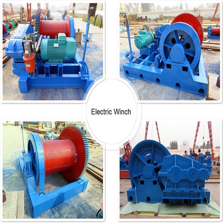 Wide Use High Speed Winch