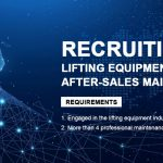 Recuiting Global After-sales Maintenance Outlets of Lifting Equipment