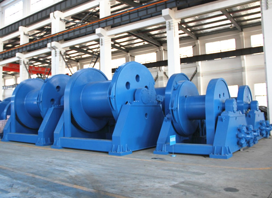 Aicrane hydraulic winch for sale