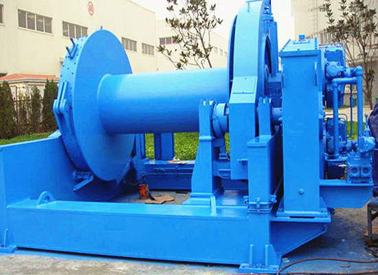 hydraulic winch with good quality