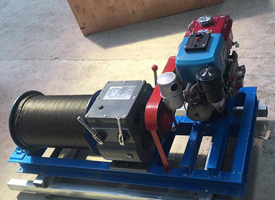 AQ-JMC diesel winch
