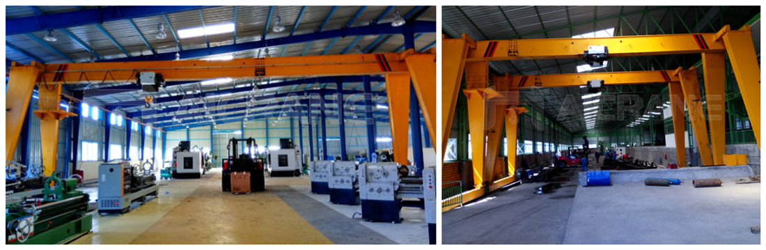 2 sets of 10ton gantry crane