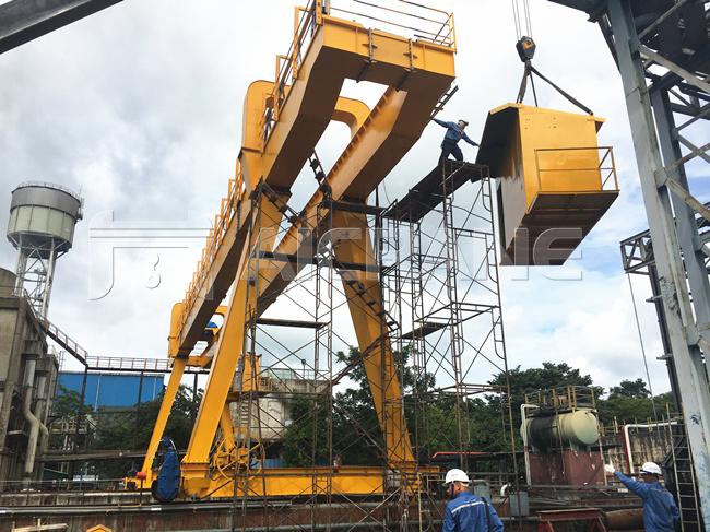 5ton Double Girder Gantry Crane
