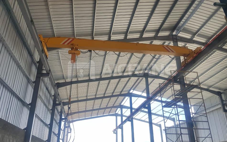 LD5T overhead crane with chain hoist