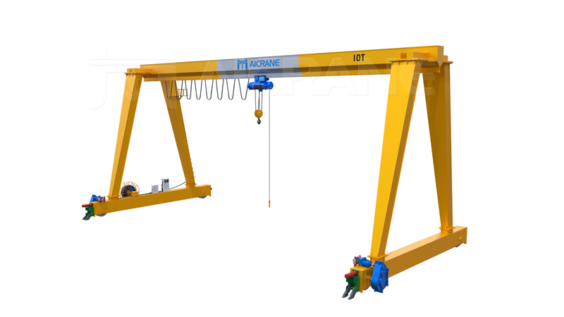 single girder gantry cranes for sale