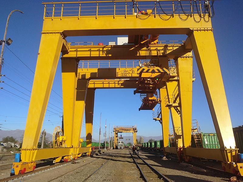 60ton double girder gantry crane