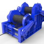 50 Ton Hydraulic Winch For Sale