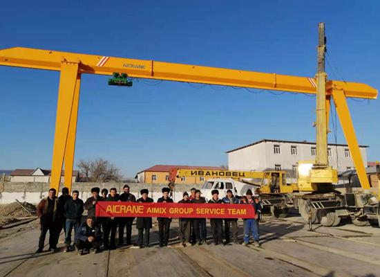 Single Girder 10 Ton Gantry Crane