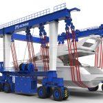 Boat Hoist Crane Lift
