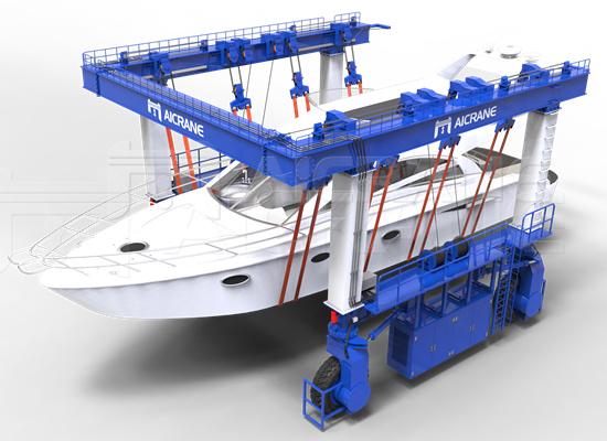 Flexible Mobile Boat Crane