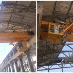 20 ton Hoist Overhead Crane Installed in Uzbekistan
