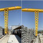 Single Girder Gantry Crane to Uzbekistan
