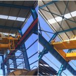 Double Girder Overhead Crane for Sale in Chile