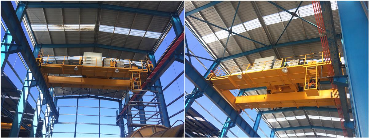double girder overhead crane in Chile